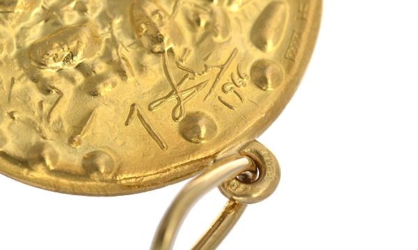 サルバドール・ダリコレクション コイン ペンダントヘッド