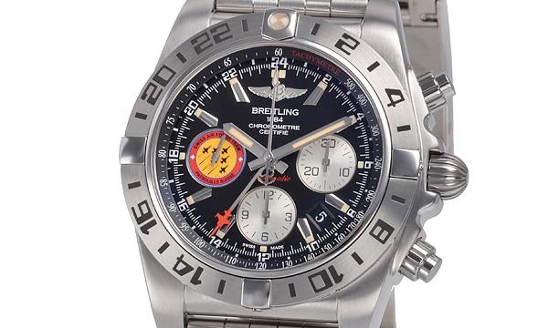クロノマット44 GMT パトルーユスイス 世界1000本限定