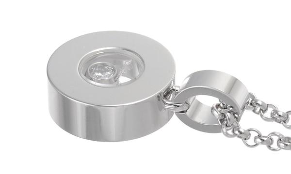 ハッピーダイヤモンド ラウンド 1Pダイヤ ペンダントネックレス