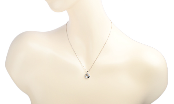 ハッピーダイヤ アイコン ハート 3Pダイヤ ネックレス