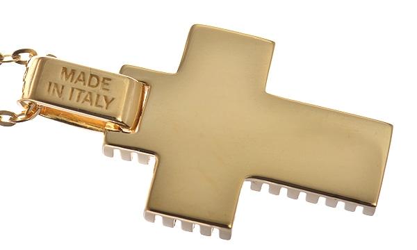 メトロポリタンドリーム クロス ダイヤ ペンダントネックレス(XS)