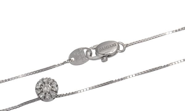 クリスタル ダイヤ ペンダントネックレス