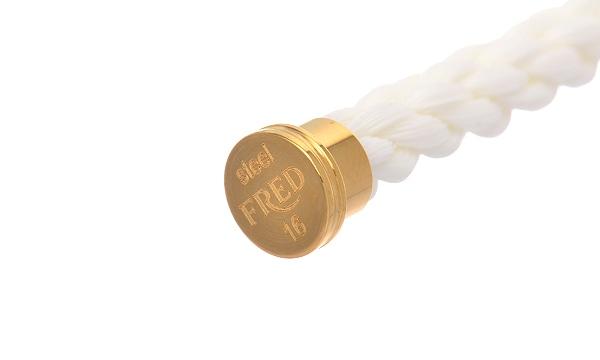フォース10 ホワイト テキスタイル ケーブル(LM) 16