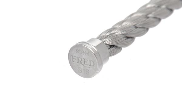 フォース10 ブレスレット用コード シルバースティール 16