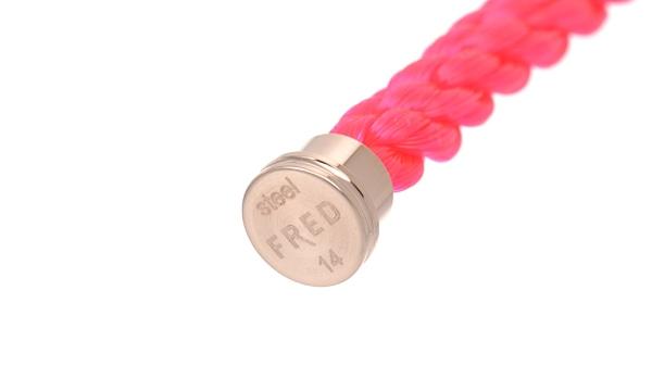 フォース10 ネオンピンク テキスタイル ケーブル 14