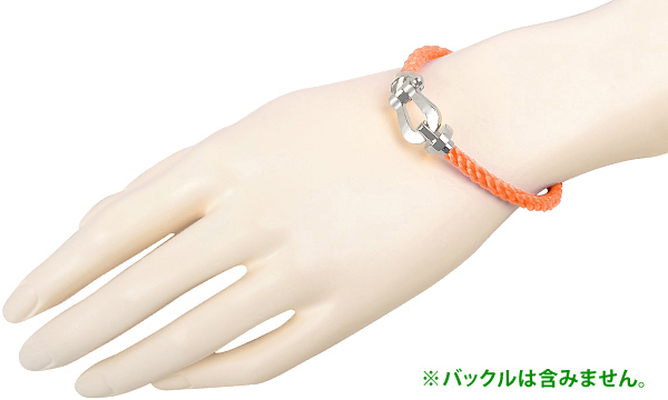 フォース10 オレンジ テキスタイル ケーブル(LM) 18