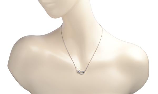 フォース10 フルダイヤ ネックレス(M)