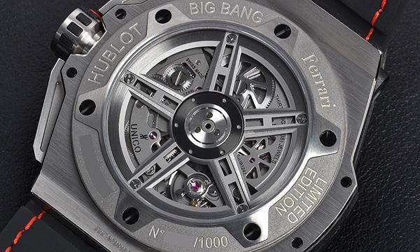 ビッグバン フェラーリ チタニウム 世界限定1000本