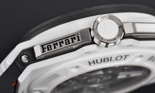 ビッグバン フェラーリ カーボン ホワイトセラミック 世界限定500本