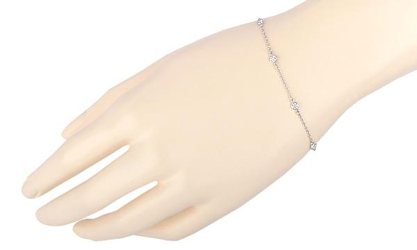 バイザヤード 6Pダイヤ ブレスレット