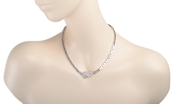 アグラフ モチーフダイヤ ネックレス