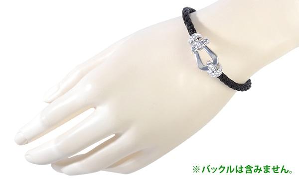 フォース10 ブレスレット用コード ブラックスティール 16