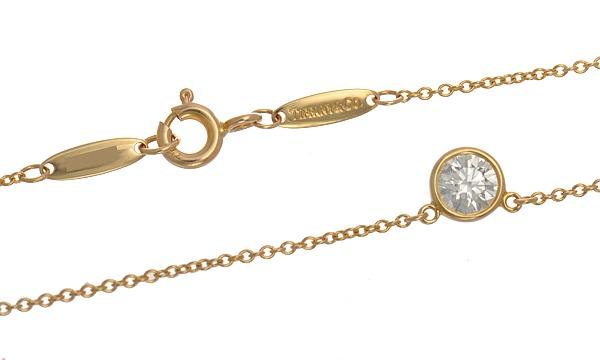 エルサ・ペレッティ ダイヤモンド バイザヤード 1Pダイヤ ネックレス