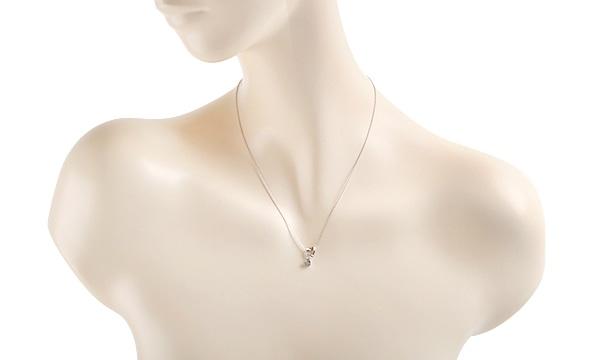 ハート ダイヤ ネックレス