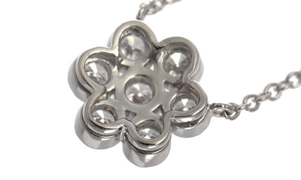 ガーデンフラワー ダイヤ ネックレス