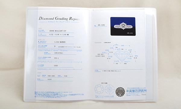 ダイヤ ソリティアリング D 1.012ct