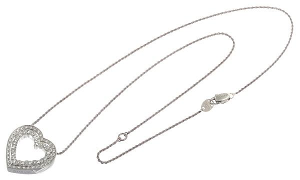 ベルエポック ハート ダイヤ ペンダントネックレス(M)