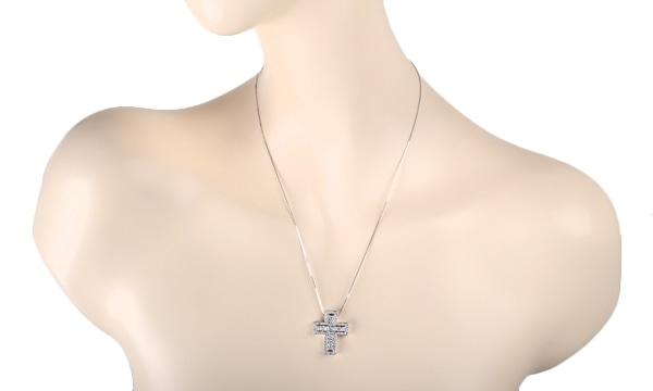 ベルエポック ダイヤ ペンダントネックレス(M)