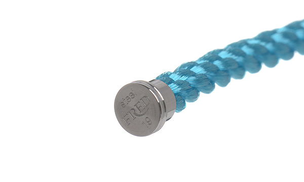 フォース10 ターコイズブルー テキスタイル ケーブル 19
