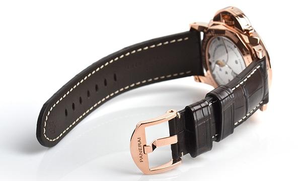 ルミノールマリーナ1950 8デイズ GMT オロロッソ