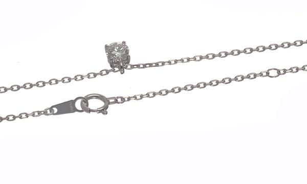 ダイヤ ペンダントネックレス D 0.411ct