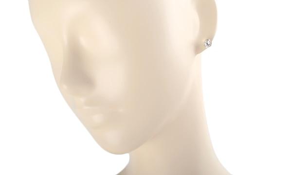 ダイヤ ピアス(シングル) D 1.109ct