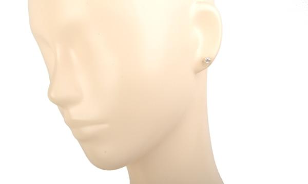 ダイヤピアス D 0.337ct/0.309ct