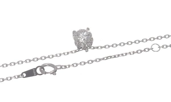 ダイヤ ペンダントネックレス D 1.014ct