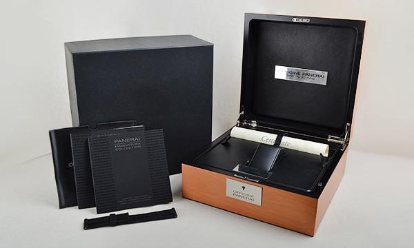 ルミノール1950 8デイズクロノ モノプルサンテGMT 世界限定250本