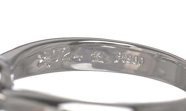 ダイヤ ソリティアリング D 2.024ct