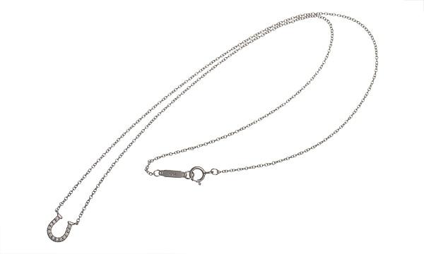 メトロホースシュー ダイヤ ネックレス(ミニ)