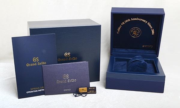 グランドセイコー スプリングドライブ 700本限定 キャリバー9R 10周年記念
