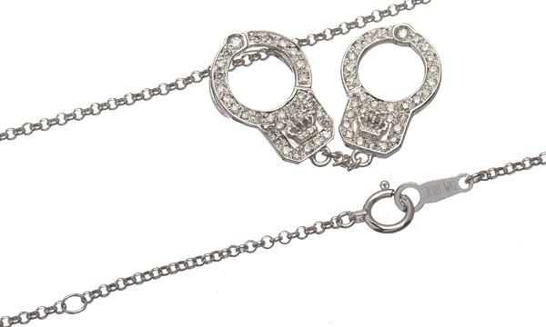 ラブカフ ダイヤ ペンダントネックレス