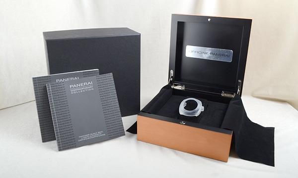 ラジオミールブラックシール 3デイズオートマチック45mm