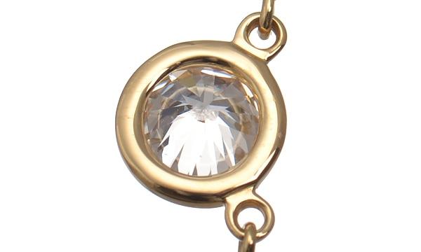 バイザヤード 1Pダイヤ ネックレス