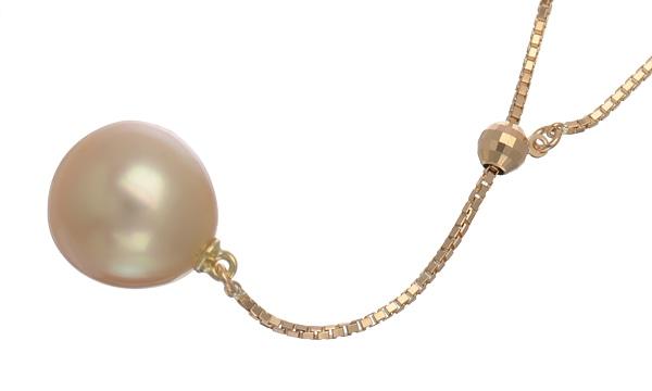 ゴールデンパール ネックレス
