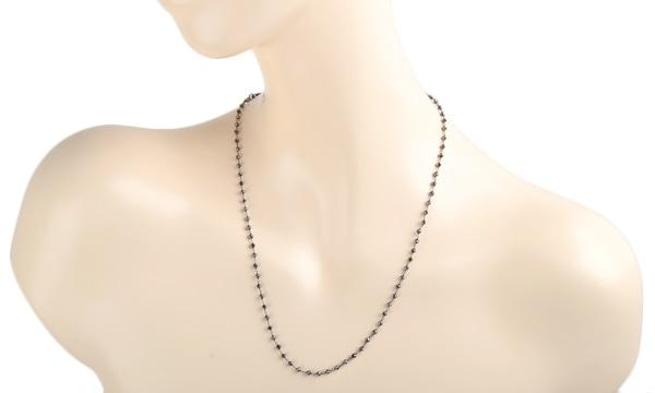 ブラックダイヤ ネックレス