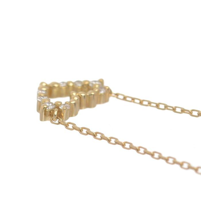 アルモイナハート ダイヤ ネックレス