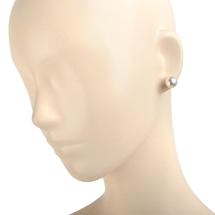 パール ピアス パール直径約11.3mm