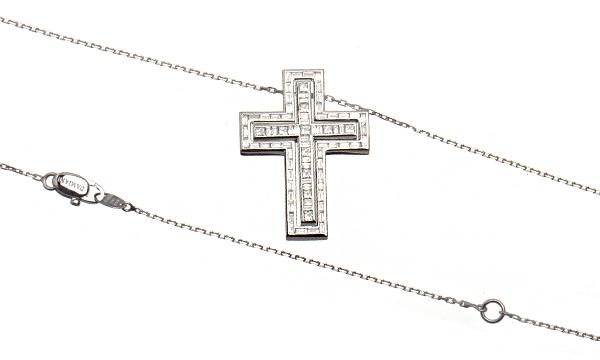 ベルエポック バゲットダイヤ・プリンセスカットダイヤ ネックレス(L)