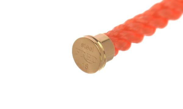 フォース10 オレンジ テキスタイル ケーブル 18