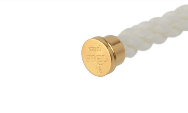 フォース10 ホワイト テキスタイル ケーブル(LM) 18