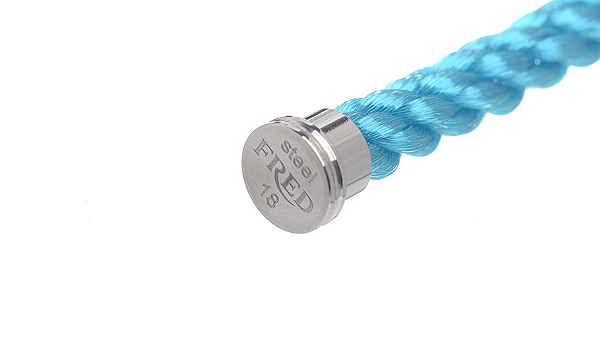 フォース10 ターコイズブルー テキスタイル ケーブル 18
