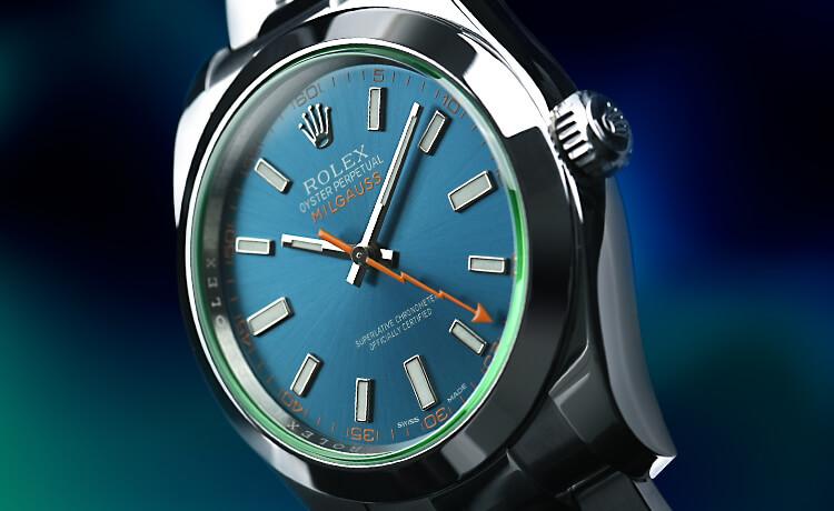 wholesale dealer 2a5d6 21d63 ロレックス ミルガウス(新品)|腕時計の販売・通販「宝石広場」