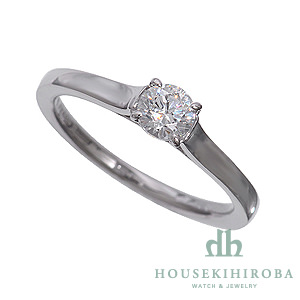 セミオーダー婚約指輪 HHR002 セッティングダイヤ 0.383-D-VS2-VG