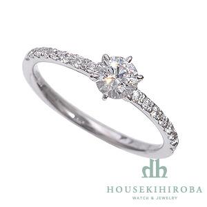 セミオーダー婚約指輪 HHR003 セッティングダイヤ 0.354-E-VS1-VG