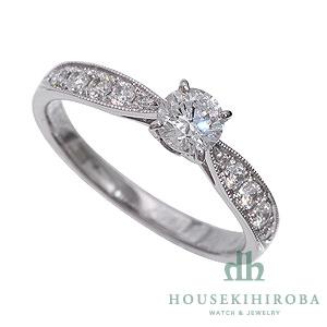 セミオーダー婚約指輪 HHR004 セッティングダイヤ 0.584-D-VVS2-EX