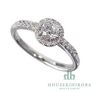 セミオーダー婚約指輪 HHR005 セッティングダイヤ 0.636-E-VS2-EX