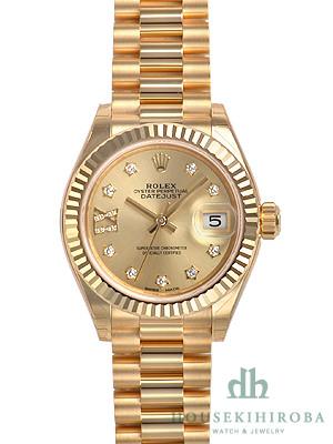 reputable site 54141 6a67c ロレックス デイトジャスト(新品)|腕時計の販売・通販「宝石広場」