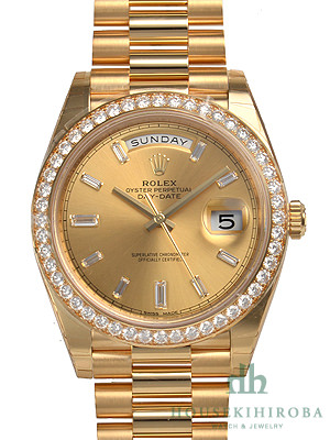 size 40 4a2b4 fcbf5 ロレックス デイデイト(新品)|腕時計の販売・通販「宝石広場」